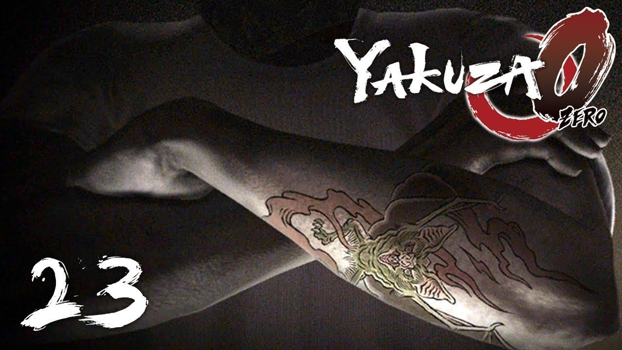 Man Yakuza Cigar Tattoo: MAN WITH A BAT TATTOO