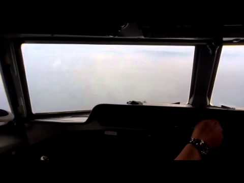 Transnusa Fokker50 landing in alor indonesia