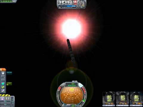 Kerbal Space Program Unmodded 20 million meters per second