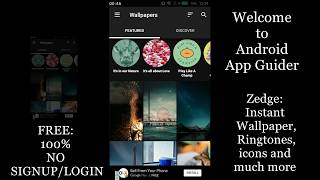 best android app to download wallpapers ringtone zedge app