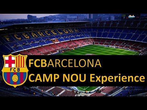 FC Barcelona Camp Nou Experience Vlog#12