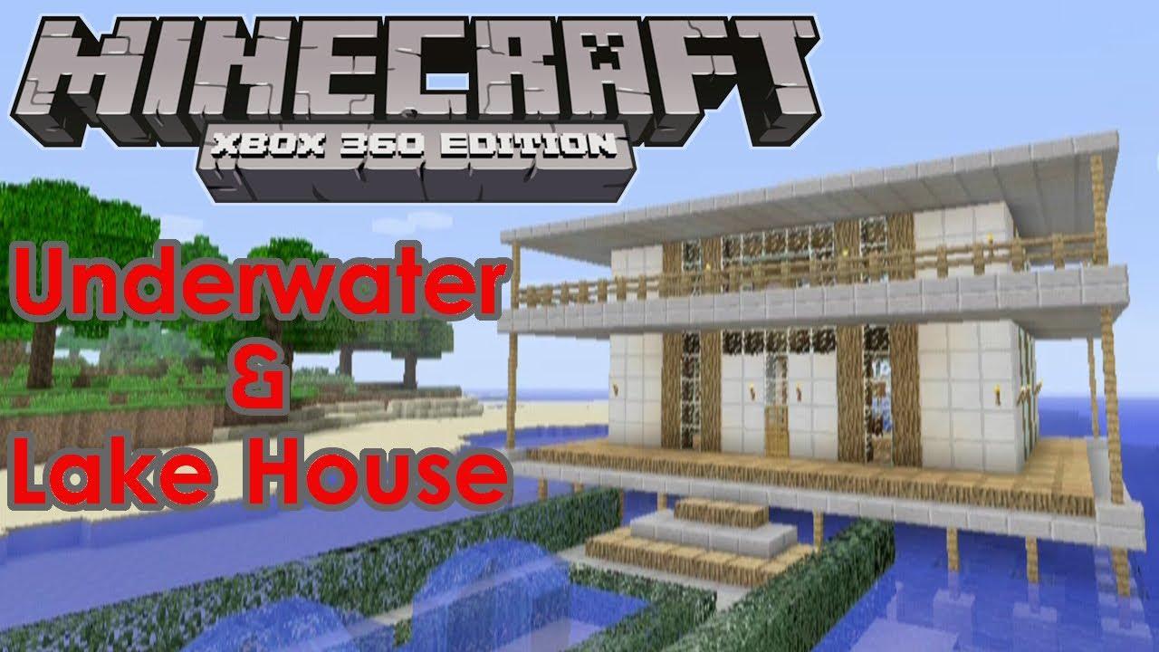 Minecraft House Tour   U0026quot Underwater House U0026quot   U0026  U0026quot Lakehouse U0026quot