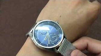 (REVIEW ĐỒNG HỒ) CITIZEN METROPOLITAN BU3011-83L BLUE 43MM   TIMEWISE