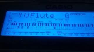Видео урок - Сиреневый туман (синтезатор)