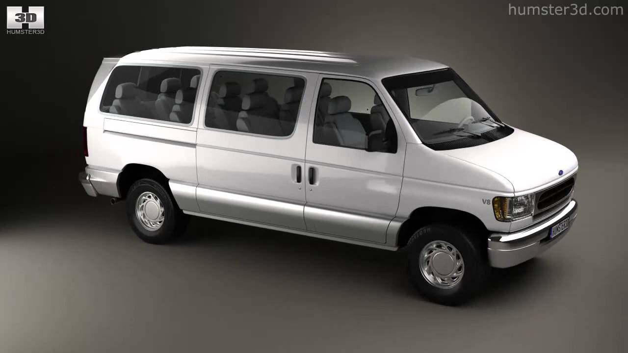 Ford e series passenger van 1998 by 3d model store humster3d com youtube