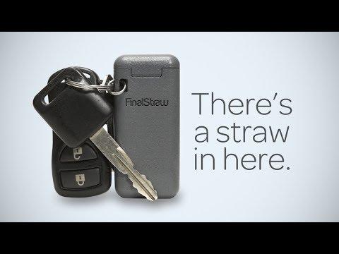 metal straw keychain kickstarter