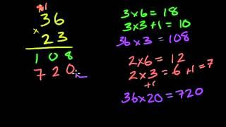 Множення двоцифрового числа на двоцифрове