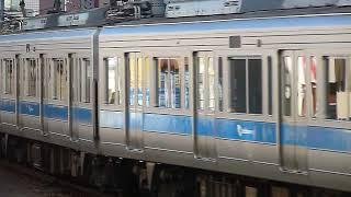 小田急3000形+1000形回送 向ヶ丘遊園駅到着