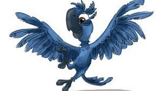 How to draw Tiago from Rio 2