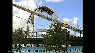Batman The Escape, Six Flags Astroworld.