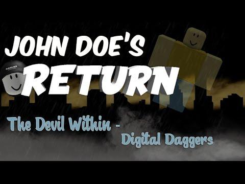 [JOHN DOE'S RETURN] The Devil Within - Digital Daggers [ROBLOX MUSIC VIDEO]