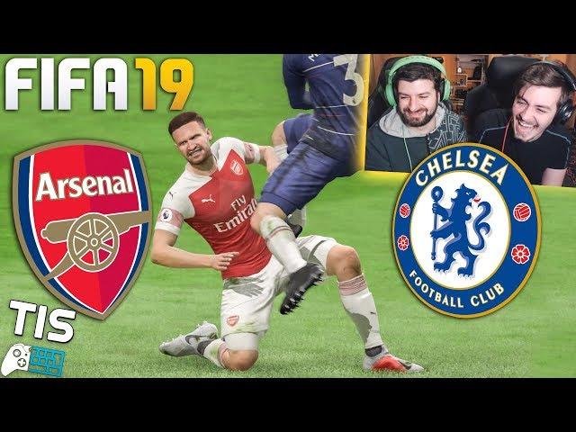 Το Ντέρμπι του Λονδίνου! - FIFA 19 | TechItSerious