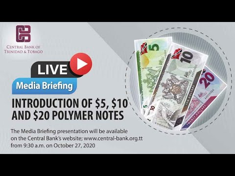 Media Briefing - Introduction Of The $5, $10 And $20 Polymer Banknotes