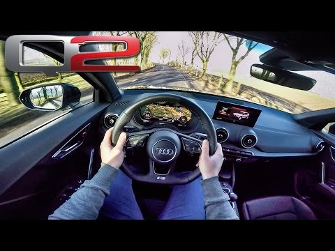 Audi Q2 2017 S Line POV Test Drive by AutoTopNL