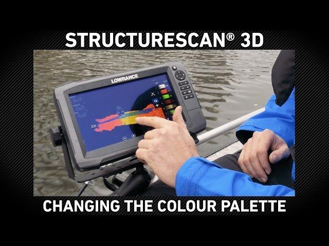 StructureScan 3D  Changing Colour Palette