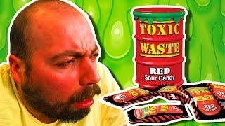 Toxic Waste Denedik - Dünyanın En Ekşi Şekeri