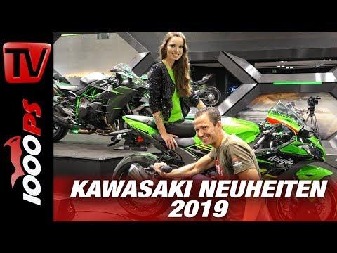 Kawasaki Neuheiten 2019 auf der INTERMOT - 125er Neu und 231 PS für die H2