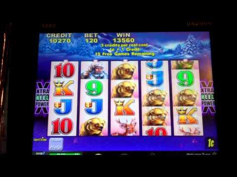 Slot machine with trigger bonus