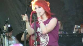 "Paramore at Warped Tour- ""Monster"" (HD) Live in Montreal on July 16, 2011"