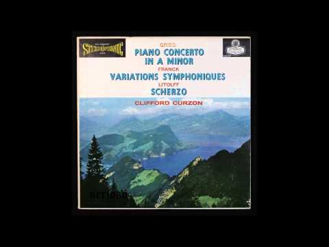 Grieg, Piano Concerto In A Minor,  Piano, Clifford Curzon