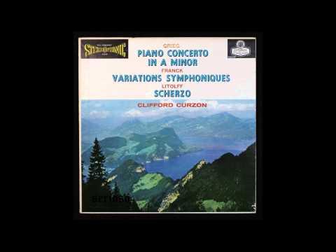 Grieg, Piano Concerto In A Minor,  Piano, Clifford Curzon