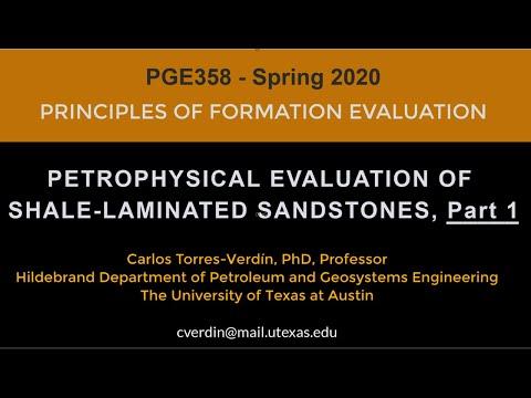 Petrophysical Evaluation of Shale-Laminated Sandstones, Part 1