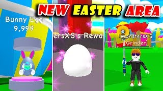 *NEW* EASTER AREA UPDATE! | BUNNY EGG & UNLOCKED CYBORG AREA (1q) In RPG WORLD SIMULATOR! [Roblox]