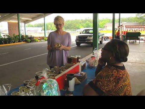 Macon Farmers Market Offers Georgia Grown Produce, Happy Atmosphere