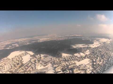 Birrfeld to Zurich, VFR route Whiskey in a Dimona