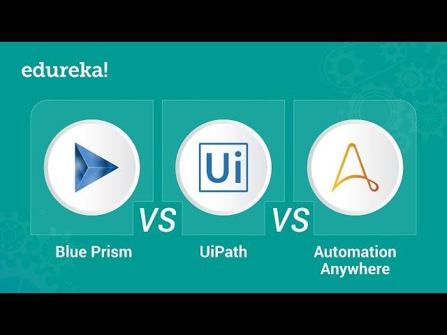Blue Prism vs UiPath vs Automation Anywhere | RPA Tools Comparison | Edureka