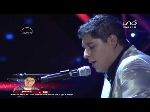 Javier o da todo en escenario | Noche final | Factor X Bolivia 2018