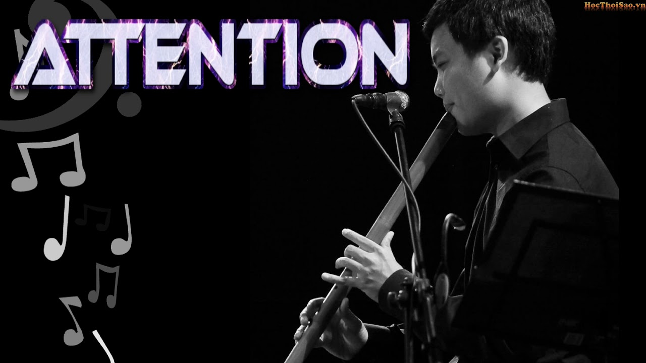 Attention - Charlie Puth | Flute cover | Bansuri - Master of Flute | Sáo Trúc Nhạc Trẻ Hay Nhất