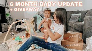 Jade's 6 Month Baby Update + Lovevery Play Kit GIVEAWAY