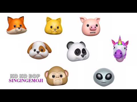 [Animoji Karaoke] Emoji Singing Ko Ko Bop -- EXO (엑소)