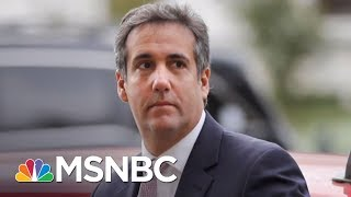 Big Loss For President Trump As Judge Blocks Bid To Shield Cohen Evidence   The 11th Hour   MSNBC