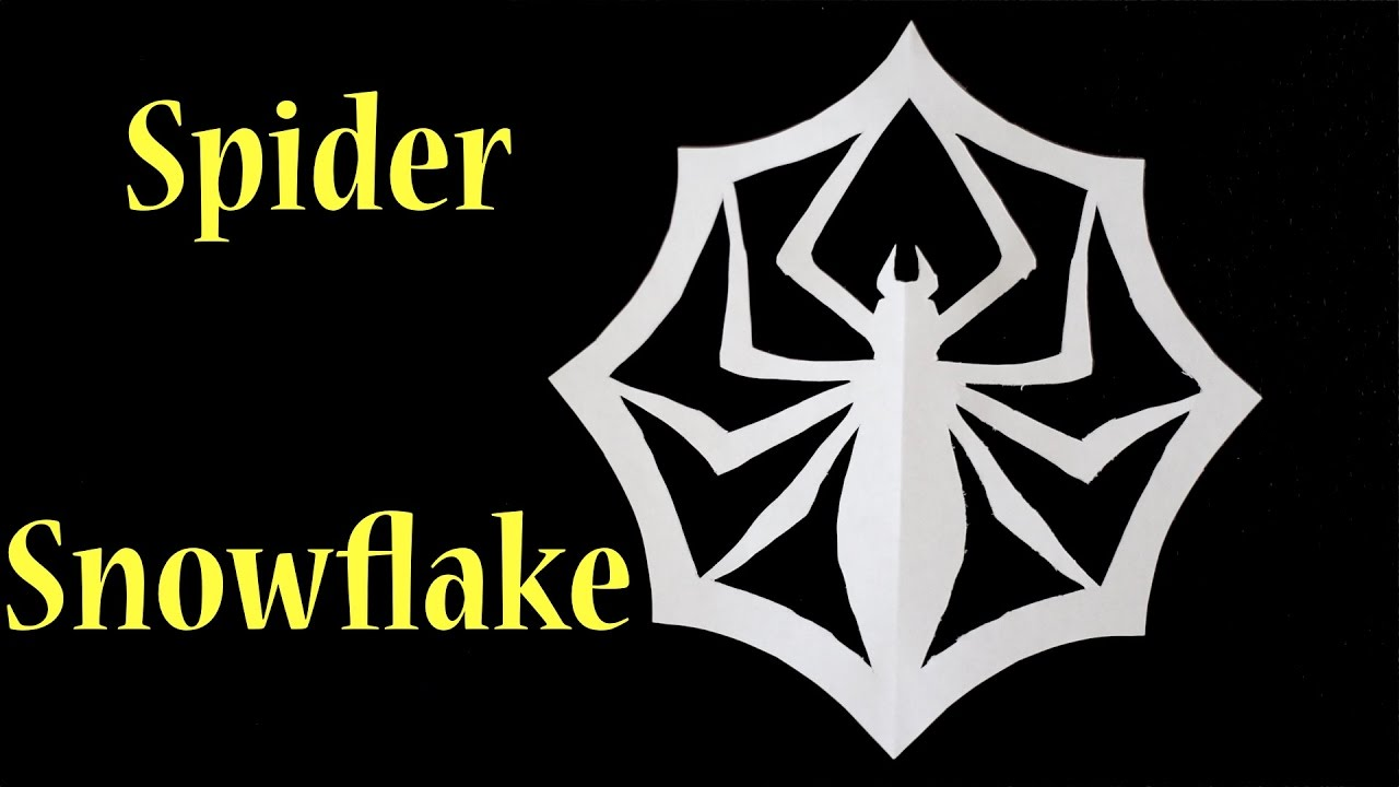How To Make A Spider Snowflake From Nightmare Before Christmas ...