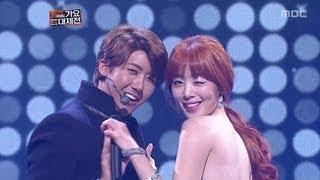 Jo Kwon, Gain VS Kwang Hee, Seon-hwa, 조권, 가인 VS 광희, 선화, KMF 2012 thumbnail