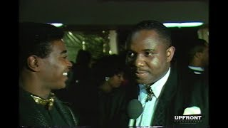 Freddie Jackson backstage interview at the American Music Awards (1989) by filmmaker Keith O'Derek