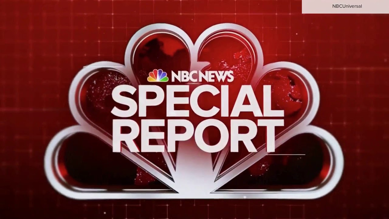 NBC News Special report open with full countdown