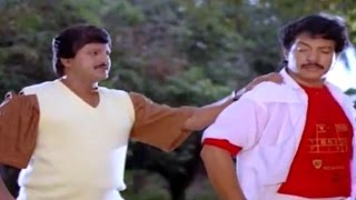 Alludugaru Movie || Mohan Babu & Nizhalgal Ravi Action Scene || Mohan Babu, Shobana