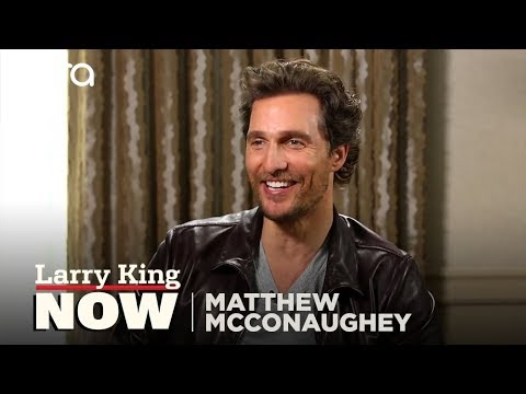 """Matthew McConaughey on """"Larry King Now"""" - Full Episode in the U.S. on Ora.TV"""