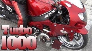Gsxr-1000 Turbo custom graphics & chrome motorcycle NHDRO Indy 2011