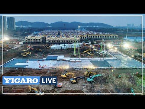 En TIMELAPSE, construction d'hôpitaux à Wuhan contre le coronavirus