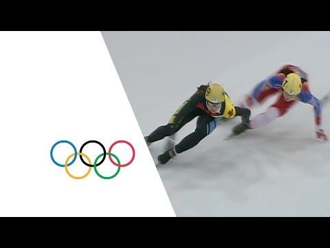 Kim Yun-Mi Speed Skating Highlights | Lillehammer 1994 Winter Olympics