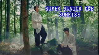 Super Junior D&E - Sunrise MV [Kanji, Rom & Eng]
