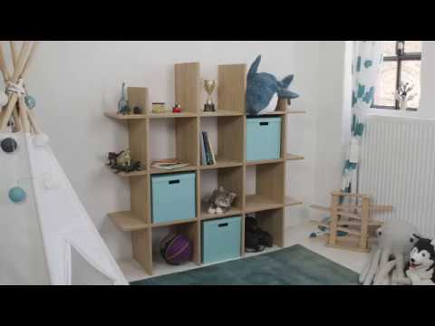 Project Tutorial: DIY-Holzregal fürs Kinderzimmer selber bauen - YouTube