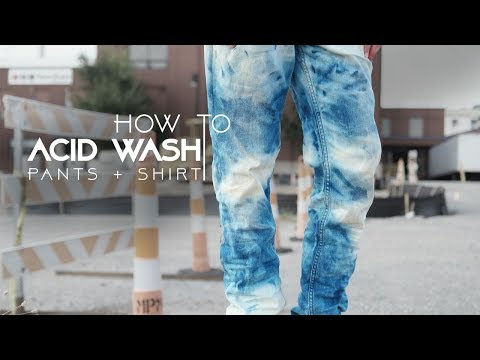 How to Acid Wash