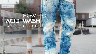 How to Acid Wash