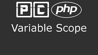 PHP beginners tutorial 40 - variable scope