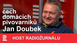 Jan Doubek. Pivo budu vařit i z vinné šťávy